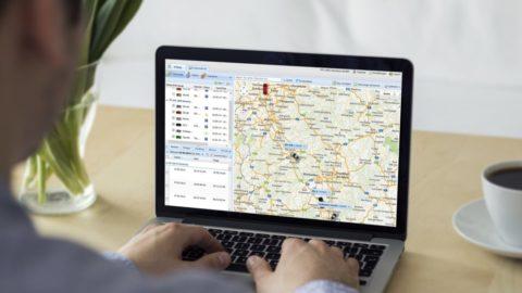 GPS Fahrzeugüberwachung